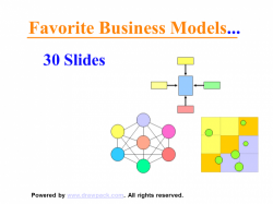 Benchmarkt Business Modelle