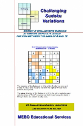 Challenging Sudoku Variations for Kids (6 - 12), Edition 004