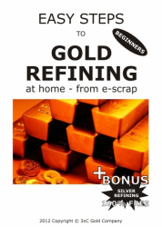 Refine GOLD at home from E-scrap and Computers