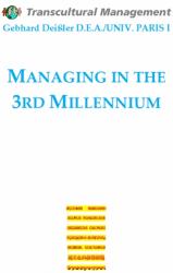 MANAGING THE THIRD MILLENNIUM