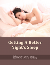 Getting a Better Nights Sleep