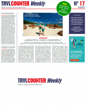 TRVL COUNTER Weekly