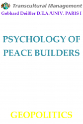 PSYCHOLOGY OF PEACE BUILDERS