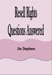 Resell Rights Questions Answered